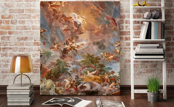 Obraz włoski barok