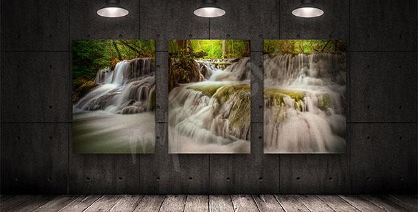 Obraz wodospad w Tajlandii