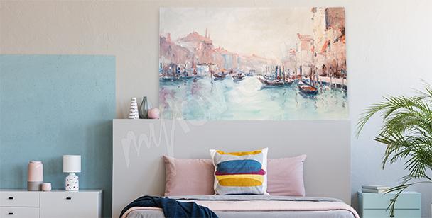 Obraz z krajobrazem Wenecji