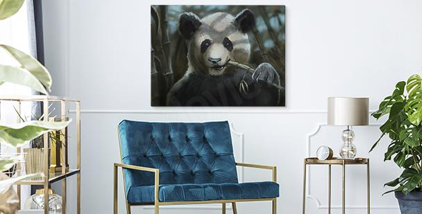 Obraz z wizerunkiem pandy