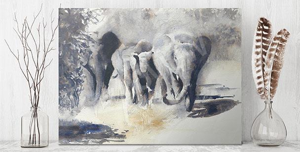 Obraz zwierzęta Afryki