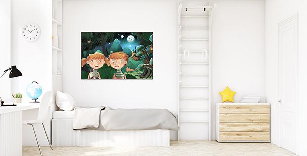 Plakat bajki do pokoju dziecka