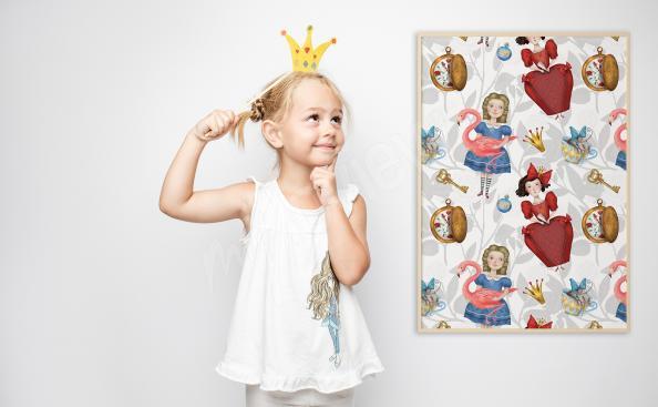 Plakat bajkowy dla dziewczynki