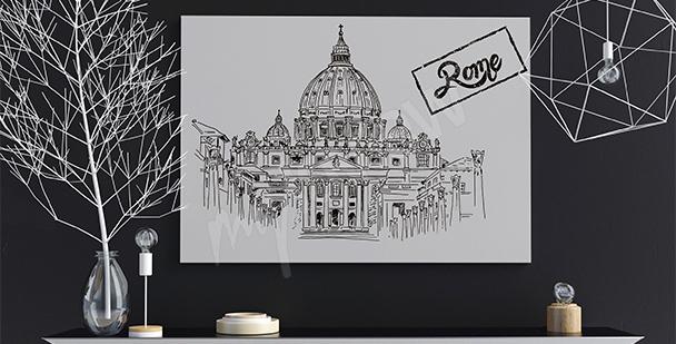 Plakat Bazylika świętego Piotra