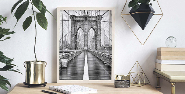 Plakat Brooklyn Bridge