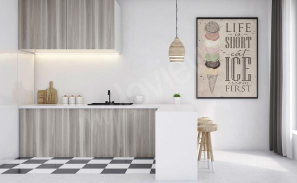 Plakat do kuchni retro