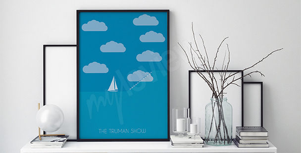 Plakat filmowy Truman Show