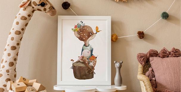Plakat ilustracja dziecięca