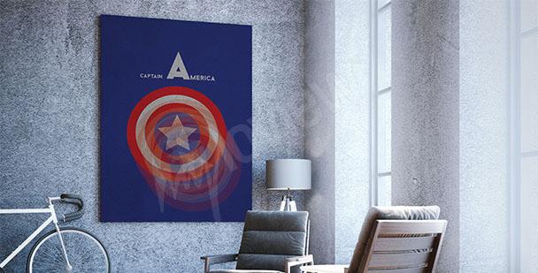 Plakat Kapitan Ameryka