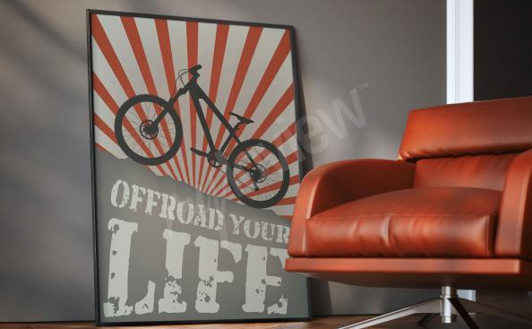 Plakat kolarski do pokoju nastolatka
