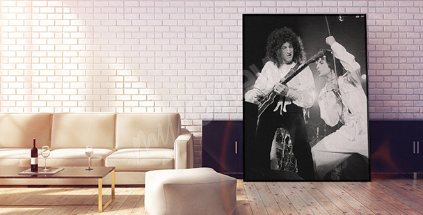 Plakat koncert zespołu Queen