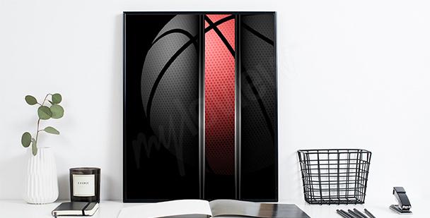 Plakat koszykówka dla sportowca