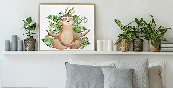 Plakat dzikie zwierzęta