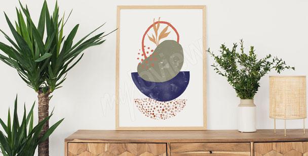 Plakat minimalistyczny wzór