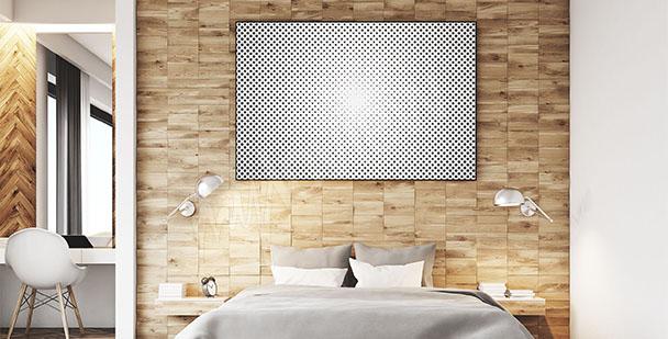 Plakat minimalistyczy pop-art