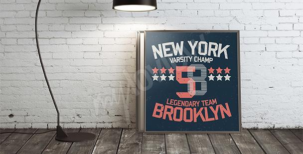 Plakat Nowy Jork Brooklyn
