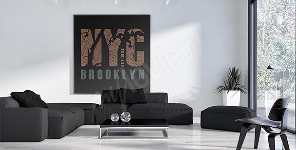 Plakat Nowy Jork do salonu