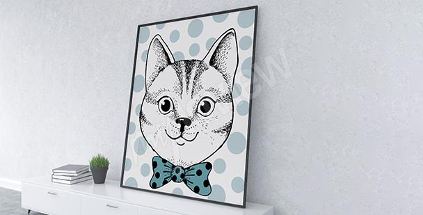 Plakat portret kota