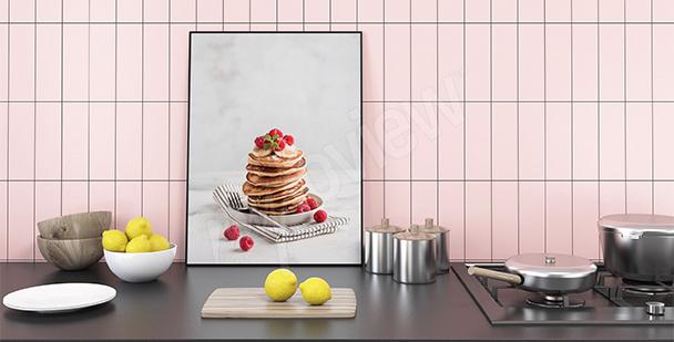 Plakat potrawy: pancakes