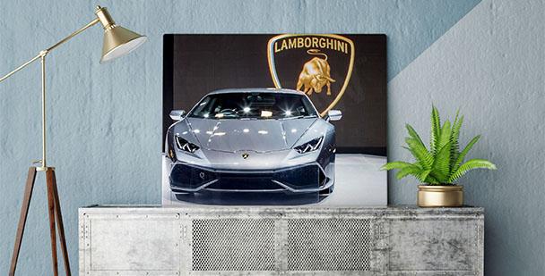 Plakat samochód Lamborghini