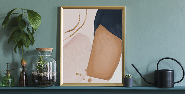 Plakat styl minimalistyczny