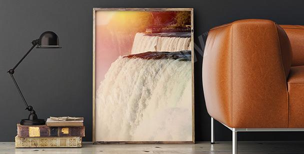 Plakat wodospad Niagara