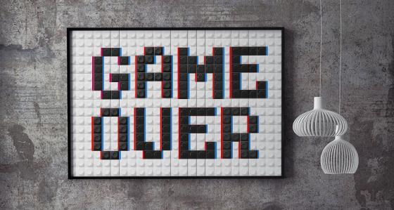 Plakaty z gier - niekończąca się rozgrywka