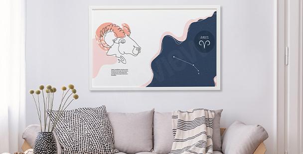 Plakat prom kosmiczny