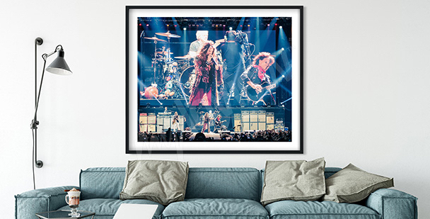 Plakat zespół muzyczny Aerosmith