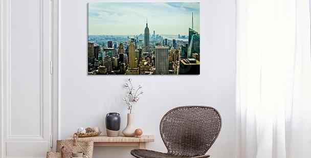 Realistyczny obraz - miasto Nowy Jork