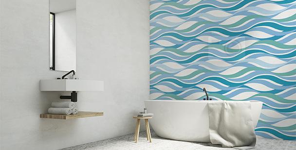 Tapeta abstrakcyjna rzeka