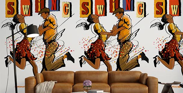Tapeta amerykański swing