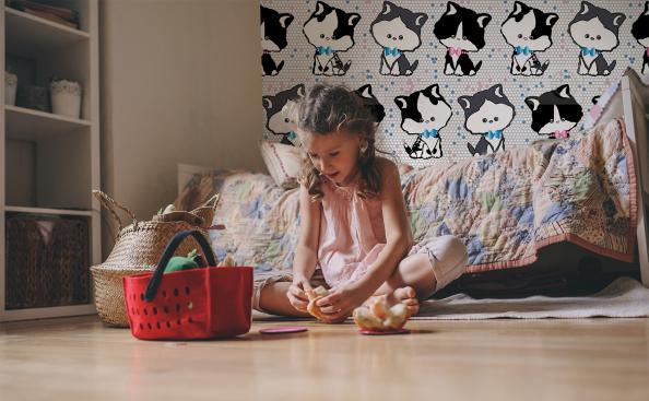 Tapeta bajkowe kotki
