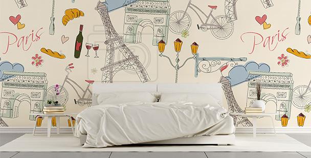 Tapeta Paryż do sypialni