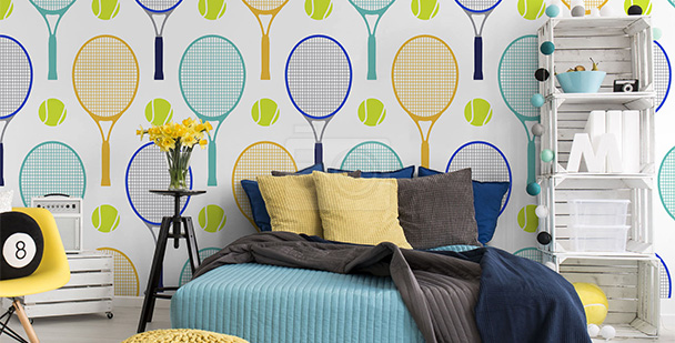 Tapeta tenis - dla nastolatka