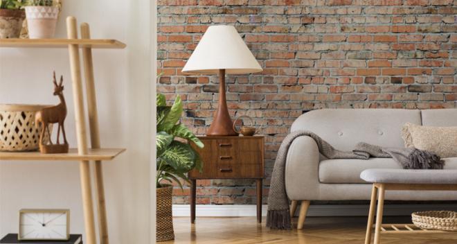 Tapeta w cegły – 6 najpopularniejszych wzorów, które warto znać