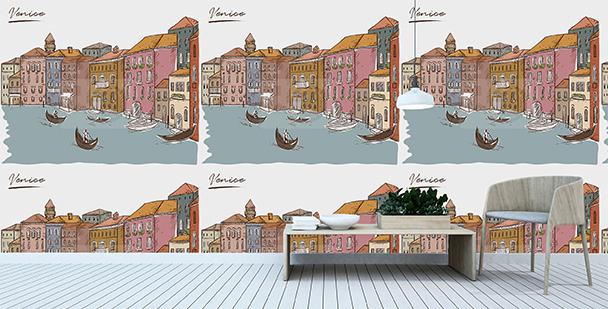 Tapeta z krajobrazem Wenecji